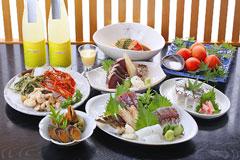 桂浜コース(料理のみ)